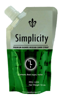 Simplicity Clear Belgian Candi Syrup